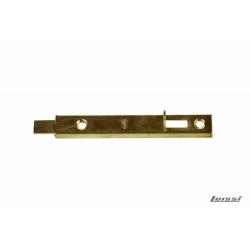 Pasador de aplicar p/placard 100mm hierro bronceado