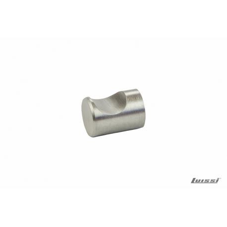 Tirador Pomo 135.95.003 18x24mm acero inoxible