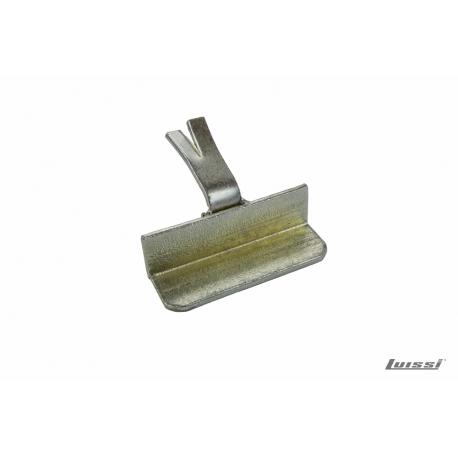 Tope hierro galvanizado p postigon de amurar luissi for Casetas de hierro galvanizado