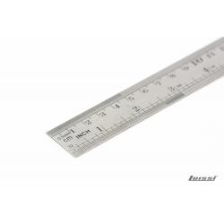 Regla Acero inoxidable 30cm Goldex