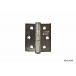 """Bisagra Acero inoxidable 3""""x3""""x3mm C/rulemanes"""