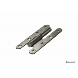Pomela acero inoxidable 140 mm. x 55 mm. x 2.5 mm. derecha