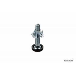 Pata tornillo regulable 45 mm. con base plástica