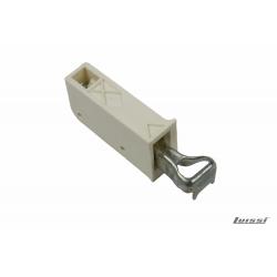 Colgador para alacena Scarpi 6 color blanco regulable