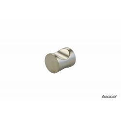 Tirador boton niquelado mate 25x20mm 136.05.609