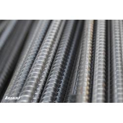 Varilla de hierro conformado 6 mm. x 12 mts.