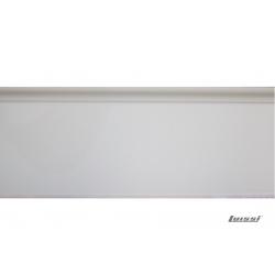 Lambriz PVC canto unión exterior acabamiento nobre blanco
