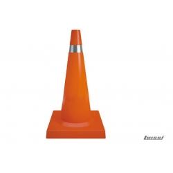 Cono de señalizacion Flex.72cm naranja