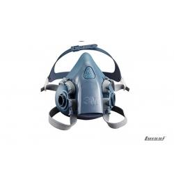 Semi mascara silicona modelo 7502 3M