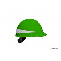 Casco H700 con reflectivo verde Arnes Cremall.3M