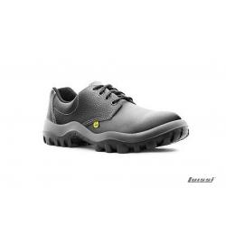Zapato Safetline negro con puntera Comp. talle 38