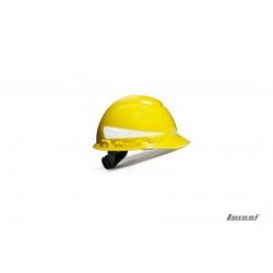 Casco H700 con reflectivo amarillo Arnes Est.3M