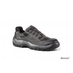 Zapato tenis negro con puntera Comp. talle 38