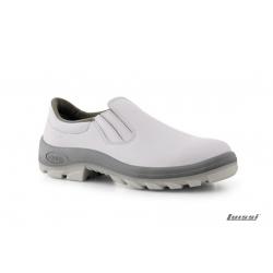 Zapato Bompel blanco elastizado talle 41 sin puntera