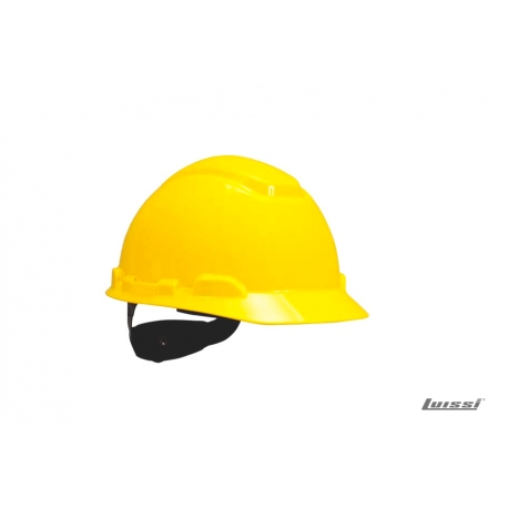 Casco H700 sin reflectivo amarillo arnes cremallera 3M