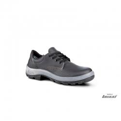 Zapato industrial negro con puntera Bompel talle 45