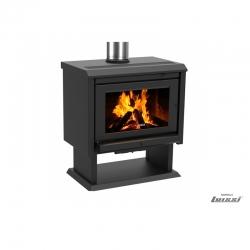 Calefactor a leña Gold 800 13 Kw charcoal Bosca