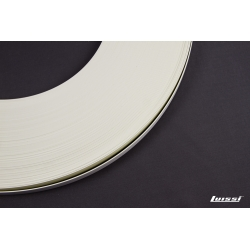 Canto ABS blanco 22 mm. x 2 mm.